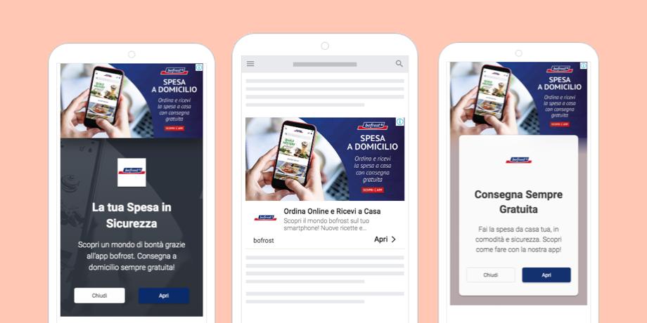 Campagna di remarketing sulla rete display di Google Ads