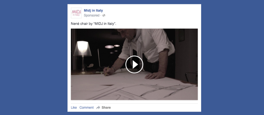 Facebook Ads campaigns for the promotion of corporate videos